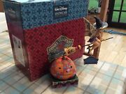 Rare Halloween Disney Tradition And039tinkerbell Pixie Takes Flightand039 10 Boxed/lights