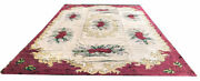 A Sensational Rare 10and039 X 15and039 Antique American Hooked Rug