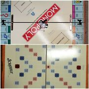 Michael Graves Monopoly And Scrabble Foldable Board Games Damaged See Pictures