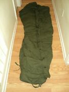 Us Military Issue Od Green Intermediate Cold Weather Mummy Sleeping Bag Last One