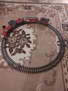 Holiday Express Train Set Battery Operated Works Great Christmas Train