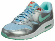 Nike Air Max 1 Kid's Shoes Style 653653-401 Size 5yyouth Girls Or Women's New
