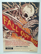 Fall Out Boy Australian Tour Poster 2013 Infinity On High Save Rock And Roll New