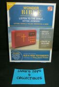 Wonder Bible As Seen On Tv Rechargeable Audio Player King James Version With Usb