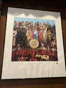 The Beatles - Limited Edition Lithographic Print 1993 Sgt. Pepperandrsquos