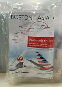 Rare Sealed Jal Sky Suite 787 Airplane Kit Promotional Toy And Pen Japan Airlines