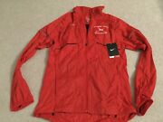 New Nike Extra Small Red Windbreaker Cooper Union 19th Invitational Active Wear