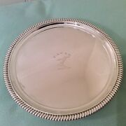 Antique Silver Salver George Iii Thomas Hannam And John Crouch 1803