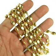 Faceted Pyrite Gemstone New Jewelry Finding Design Rosary Beaded Dangling Chain