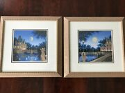 Two Jim Buckels Numbered Serigraphs - Aurora's Garland And Carville Blanc