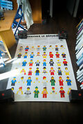 Lego Hcr Refugees Protect 1980and039s 4x6 Ft Original Vintage Advertising Poster