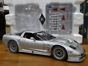Gmp 2001 Chevy Corvette C5-r Tribute Silver 112 Scale Diecast Street Model Car