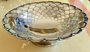 366 Gr. Sterling Silver Centerpiece Sheffield 1940 Years Mappin And Webb