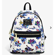 Lilo And Stitch Costumes Mini Backpack Disney Loungefly Bnw/tags