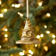 Pottery Barn Teen Harry Potter Sorting Hat Ornament Christmas / Holiday Tree New