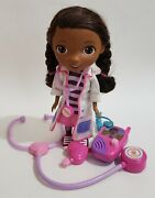 Doc Mcstuffins Lot 11 Doll Stethoscope And Walkie Talkie-all 3 Talk And Sing
