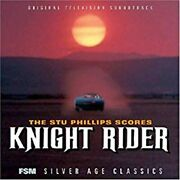 The Stu Phillips Scores Knight Rider Fsm 3000 Limited Cd Sold Out Item New Japan