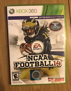 Ncaa Football 14 Xbox 360 - Very Good Condition, Tested, Works