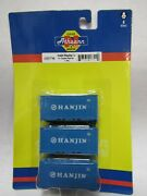 Athearn 17700 Hanjin Shipping Co. N Scale 20 Ft Corrugated Container 3 Pk