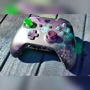 💕xbox One S Model 1708 Controller Custom Limited Sea Of Thieves Green Led💞