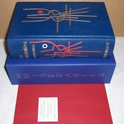 Folio Society Limited Edition Les Miserables By Victor Hugo