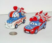 Disney Pixar Cars Lightning Mcqueen And Mater The Greater Lot X2 Key Stunt Playset