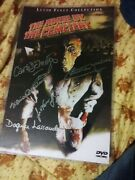 House By The Cemetery Signed/autograph Cast Poster - Very Rare