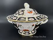 Royal Crown Derby Imari Large Soup Tureen Bone China England Excellent Condition