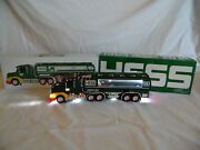 Hess 1964-2014 50th Year Anniversary Toy Truck And Tanker Collectible In Box