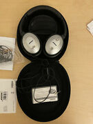 Gently Used Bose Qc 15 Noise Cancelling Headphones, Complete Set
