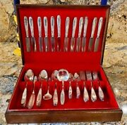 1847 Rogers Brothers Silver Plated Flatware Set