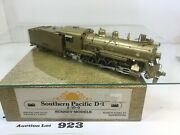Lot923 Sunset Models Ho Scale Brass Southern Pacific D-1 2-10-0 2 Rail