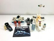 Vtg Fisher Price Adventure People Space Lot- Alpha Probe Complete 325 W/368and 357