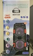 """Bluetooth Speaker 6.5""""+6.5"""" Inch Tws Best Quality Super Sound Rechargeable Fm Tf"""