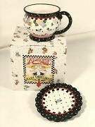 Mary Engelbreit Tea Cup And Saucer Oh So Me Ink At Home Vintage Set