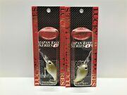 Lot Of 2 - Lucky Craft Clutch Dr 4,2cm 6.6g - Downsize Crankbaits - New - L@@k
