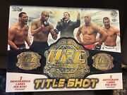 2011 Topps Ufc Title Shot Hobby Box Factory Sealed 4 Hits Free Shipping