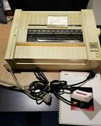 Apple Imagewriter Ii Printer With Owner's Guide, Cable And Power Cable