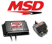 Msd Ignition Kit 65303 Digital Programmable 6al-2 Ignition Box And Blaster Ss Coil