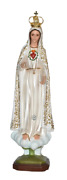 Our Lady Of Fatima Blessed Virgin Mary 26 Inch Fancy Statue