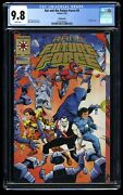 Rai And The Future Force 9 Cgc Nm/m 9.8 White Pages Gold Edition