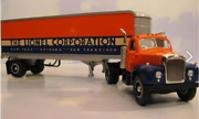 First Gear 'lionel Corp' 1960 Model B-61 Mack Tractor And Trailer 1/34 19-0116