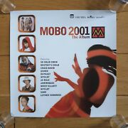 Mobo 2001 The Album Official Uk Record Company Promotional Poster Ultra Rare