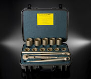 Brand New Ampco W-291 3/4 Sae Drive Nonsparking Socket Wrench Set 15 Pc Kit