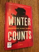 David Heska And Wanbli Weiden Winter Counts Signed By Both Authors 2020