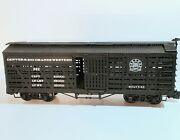Denver And Rio Grande Western Stock Car G Scale Bachmann 98118 Used
