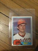 1981 Topps Nolan Ryan 240 Houston Astros Collectors Must Have Impossible Find