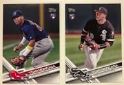 2017 Topps Update Series Yoan Moncada Rc Rookie Card Red And White Sox Updates