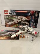 Lego 9493 Star Wars X-wing Starfighter 100 Complete Excellent Condition W/box