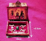 Saints Peter's And Paul's Tombs Reliquary Wooden/bone Box